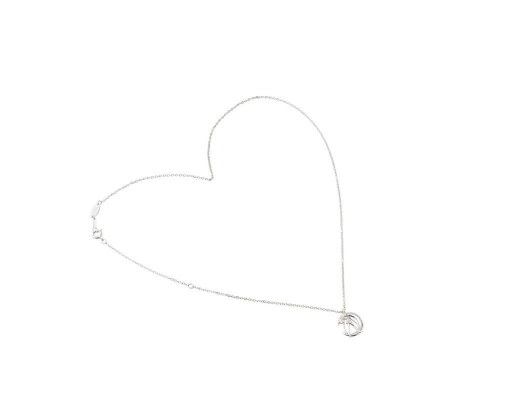 Sailor Moon silver necklace