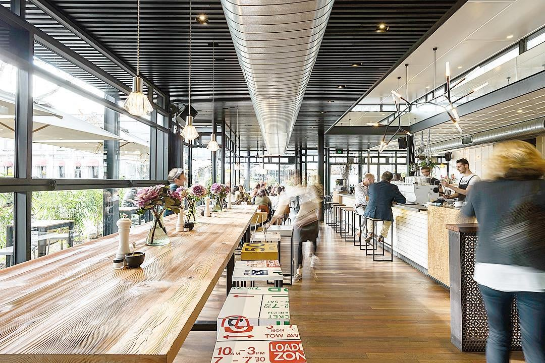 Top Paddock Interior Melbourne Cafes