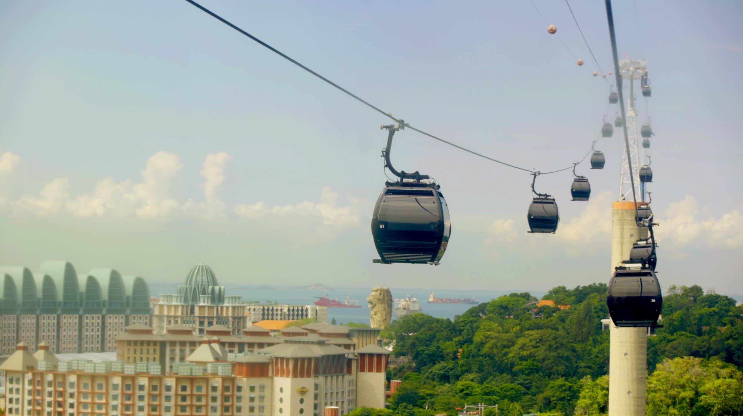 klook singapore gabbi garcia issa pressman cable car sentosa
