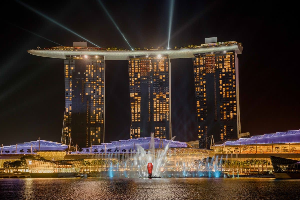 Singapore Marina Bay Spectra Light Show