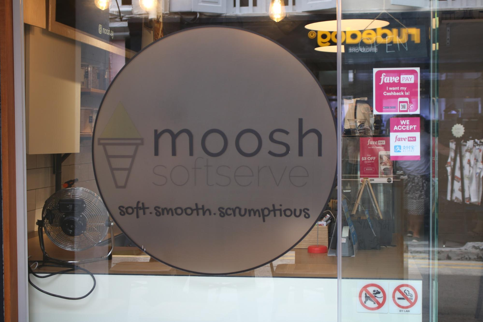 haji lane singapore moosh softserve