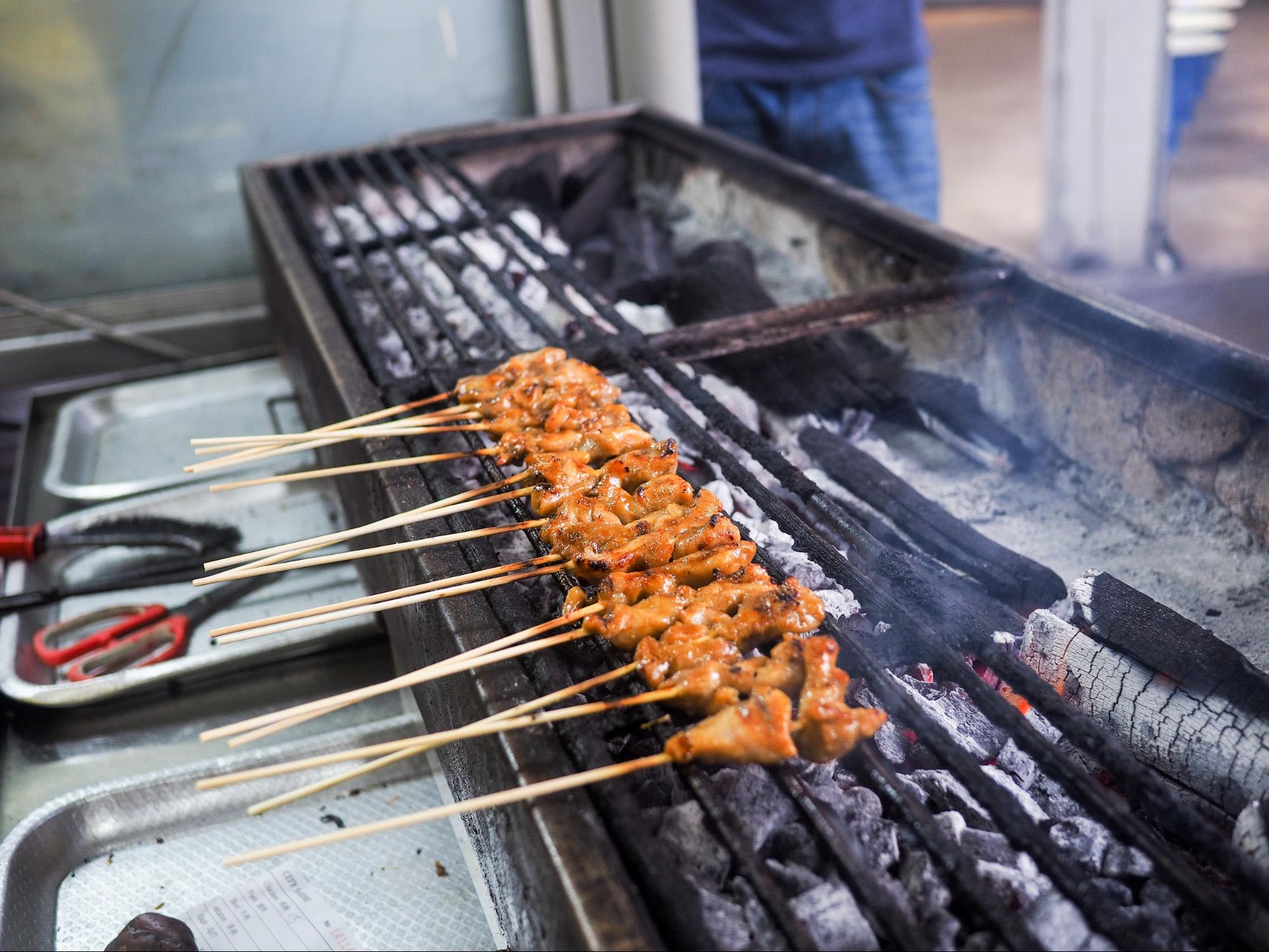 Singapore Satay by the Bay