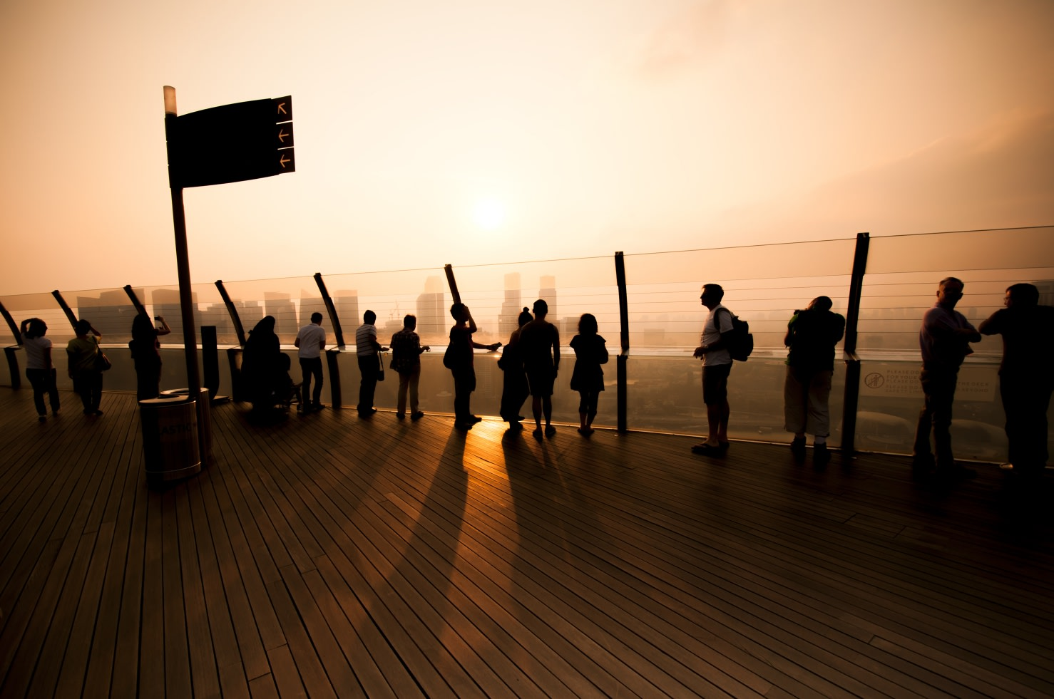 Singapore Marina Bay Sands Skypark Observation Deck