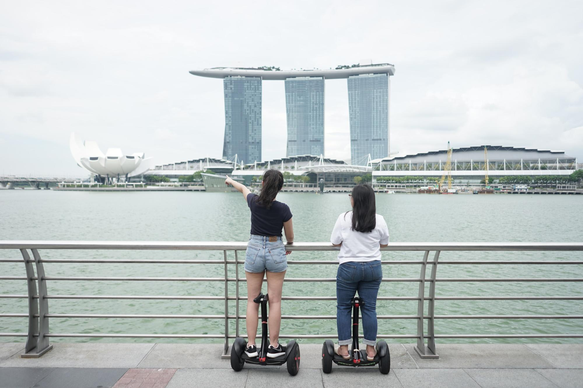 Singapore Marina Bay Sands Segway