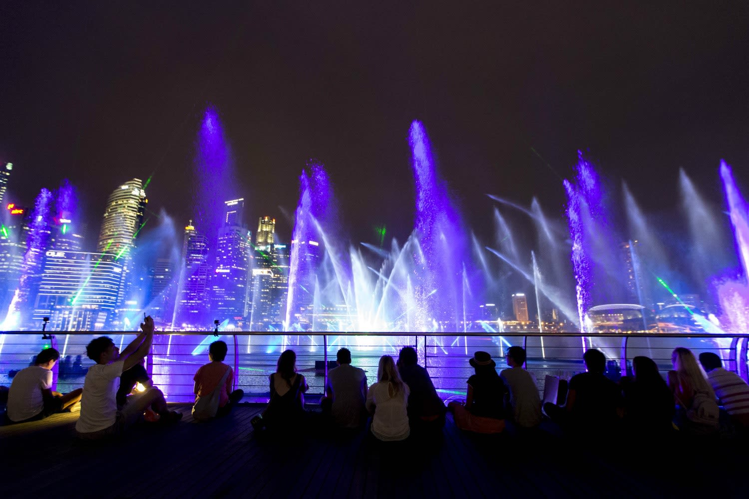 Singapore Marina Bay Spectra Light Show