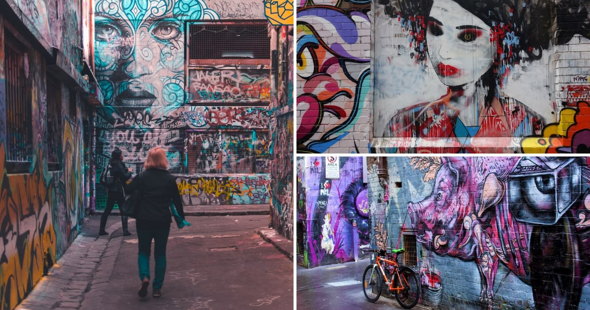 Melbourne Laneways Cover Image