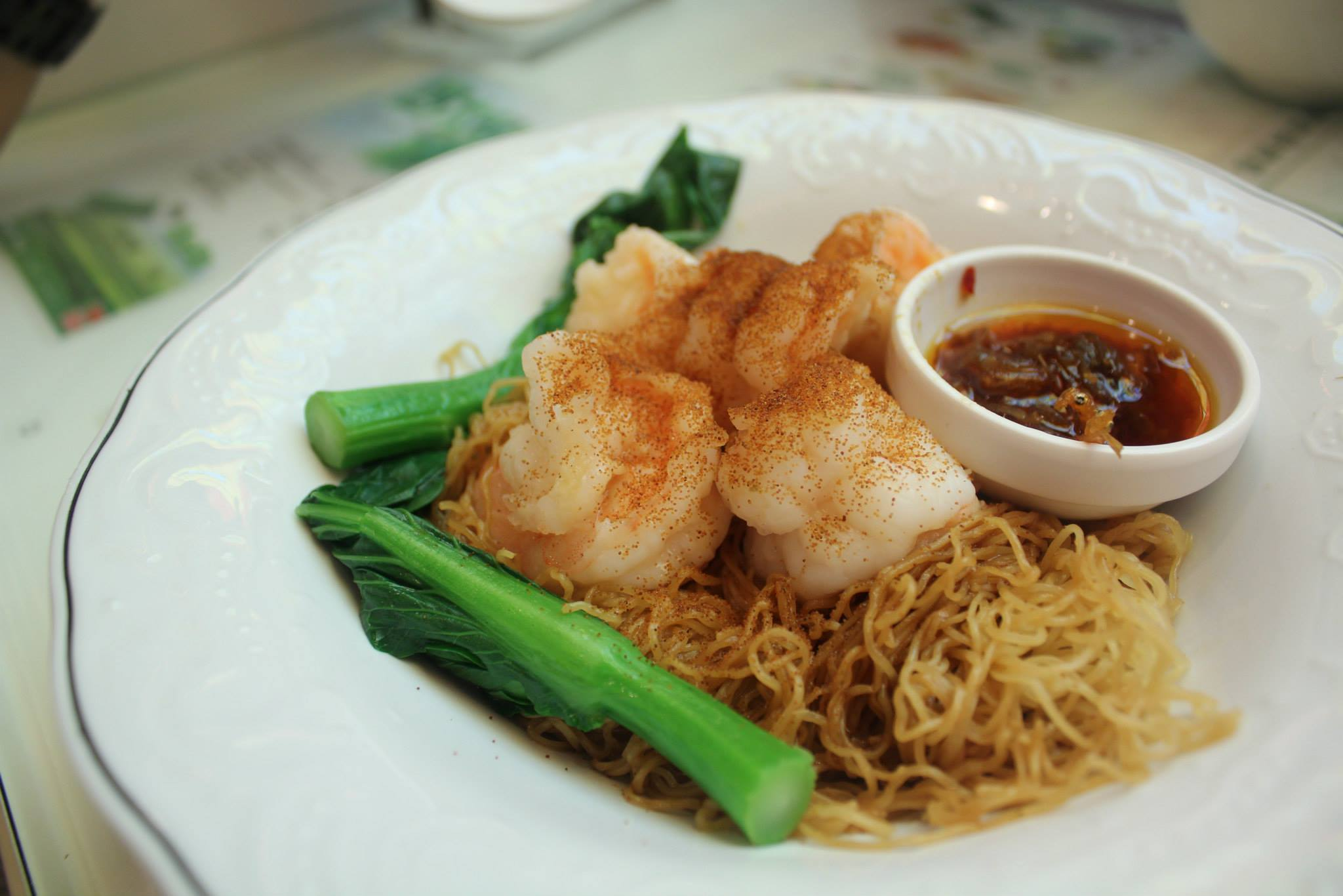 Tsui Wah Cafe King Prawns XO Sauce Noodles Singapore