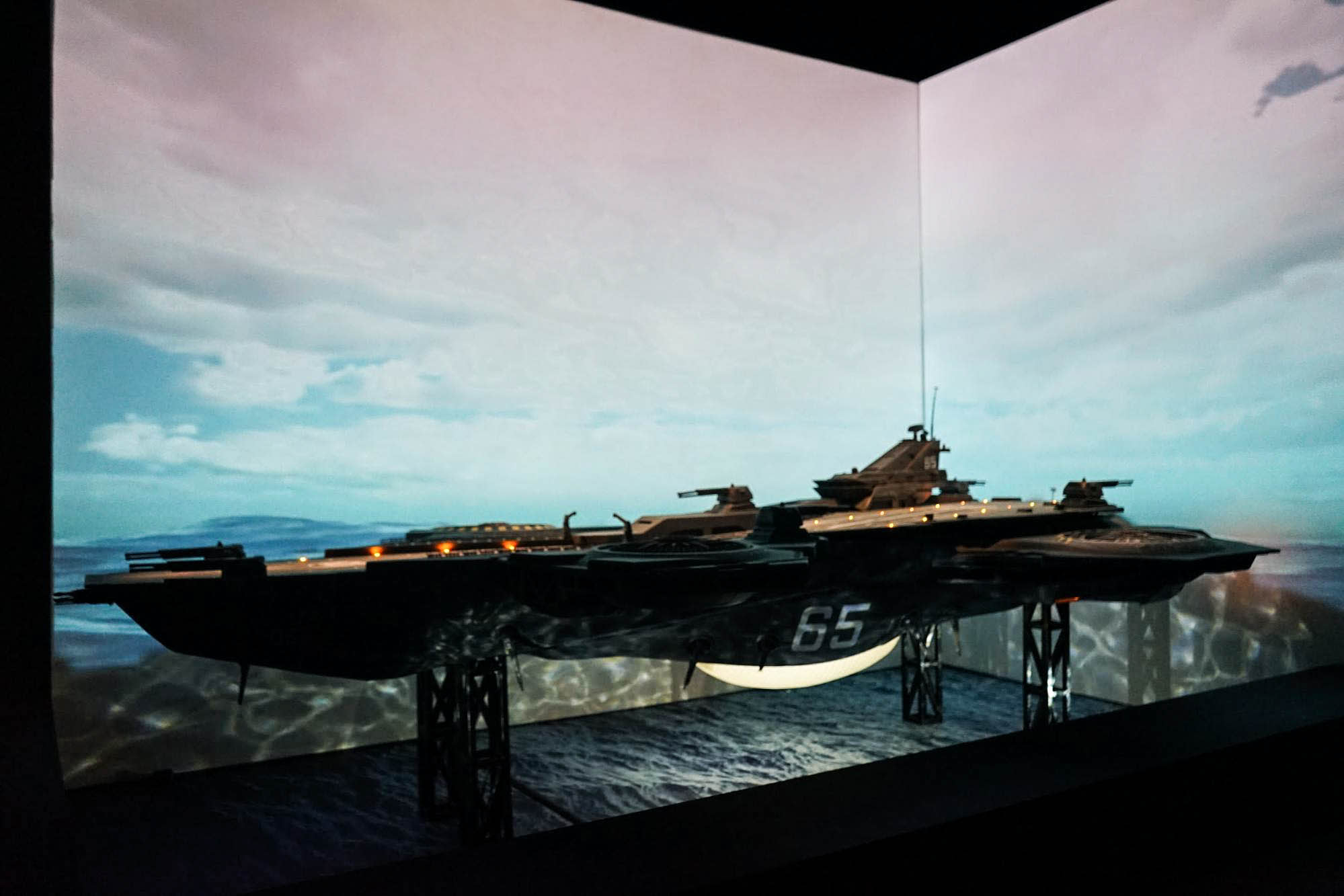 art science museum marvel captain america helicarrier