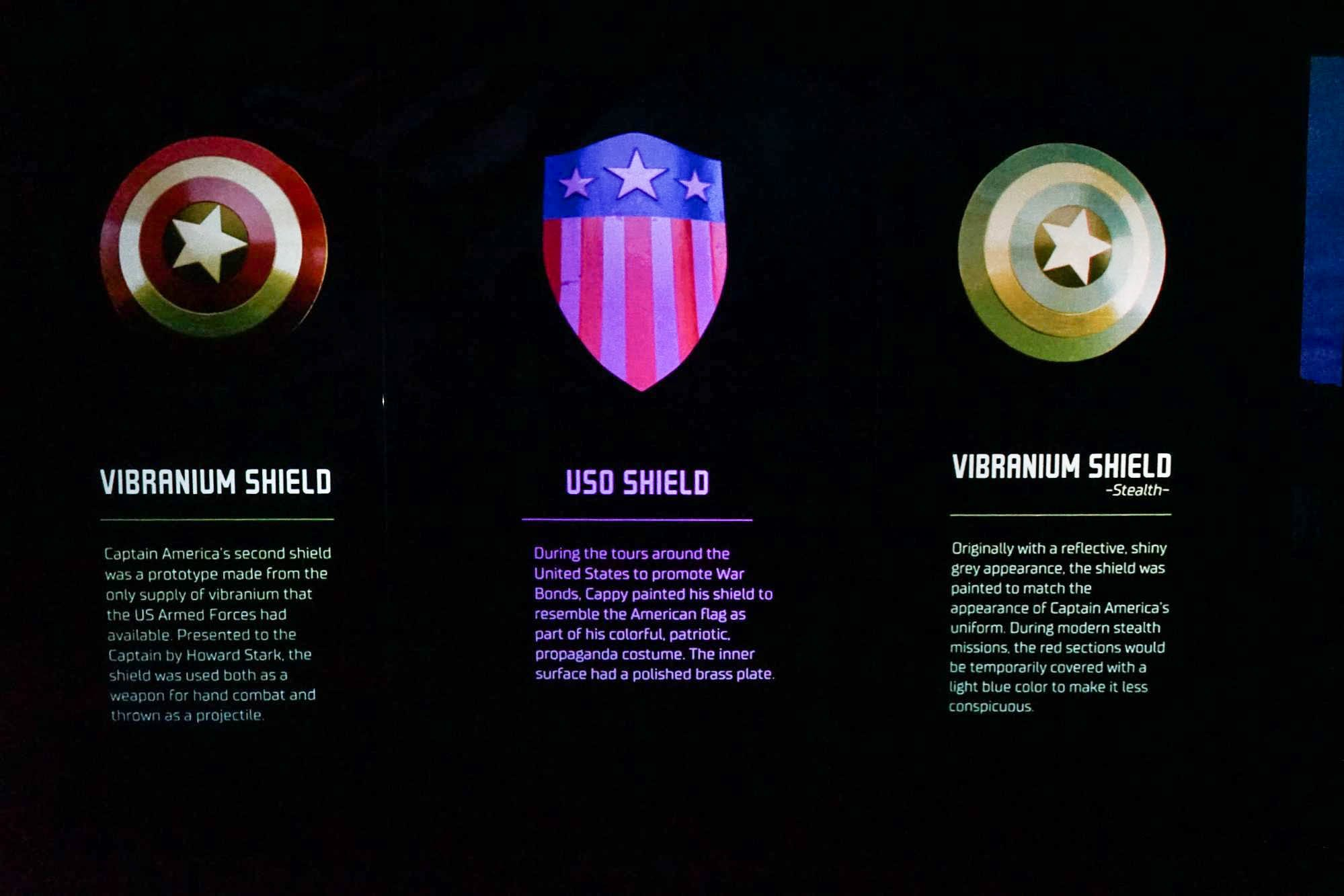 artscience museum marvel captain america shield
