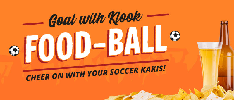 klook sg promo foodball