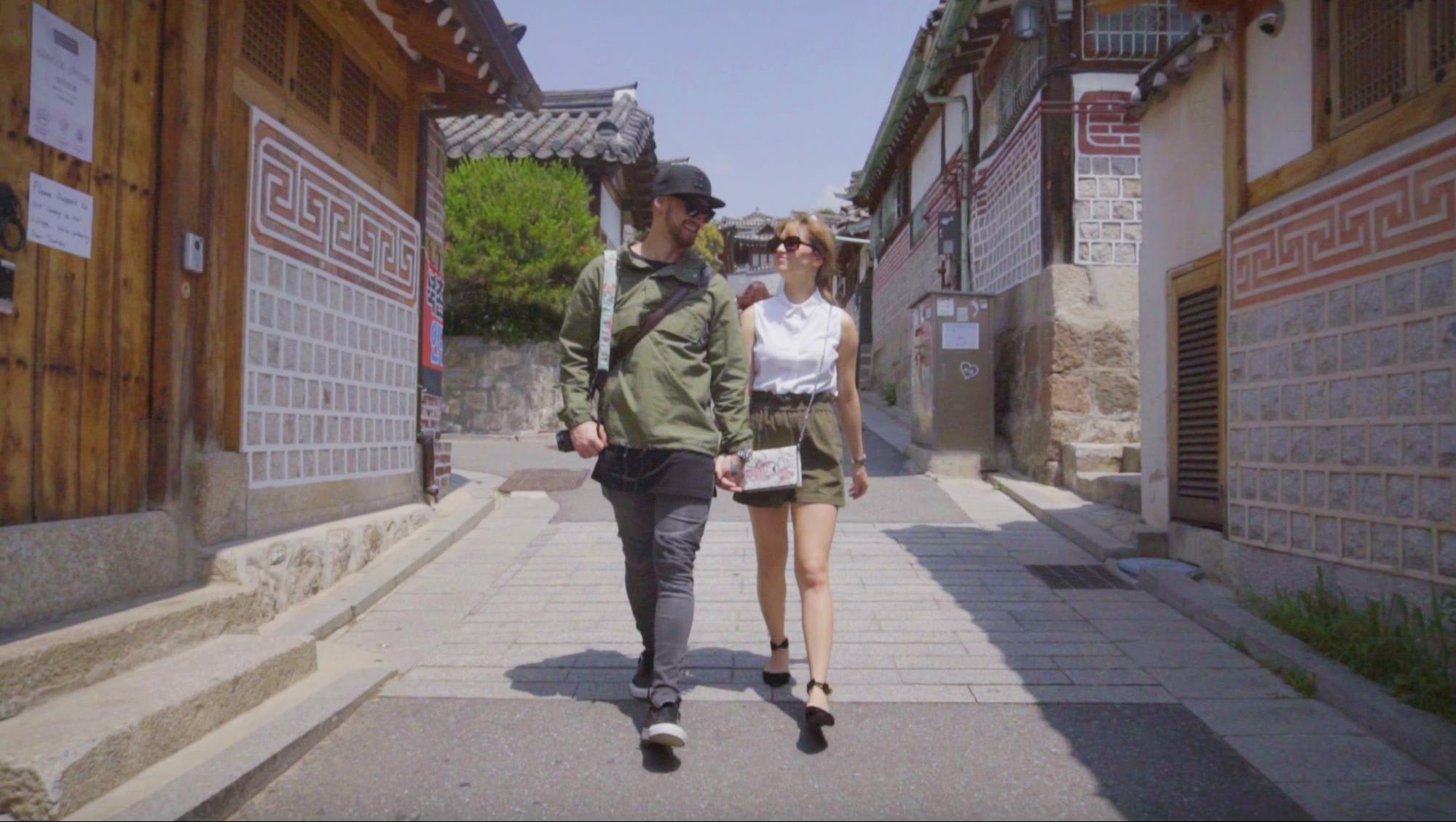 BILLY COLEEN SEOUL SOUTH KOREA bukchon hanok village