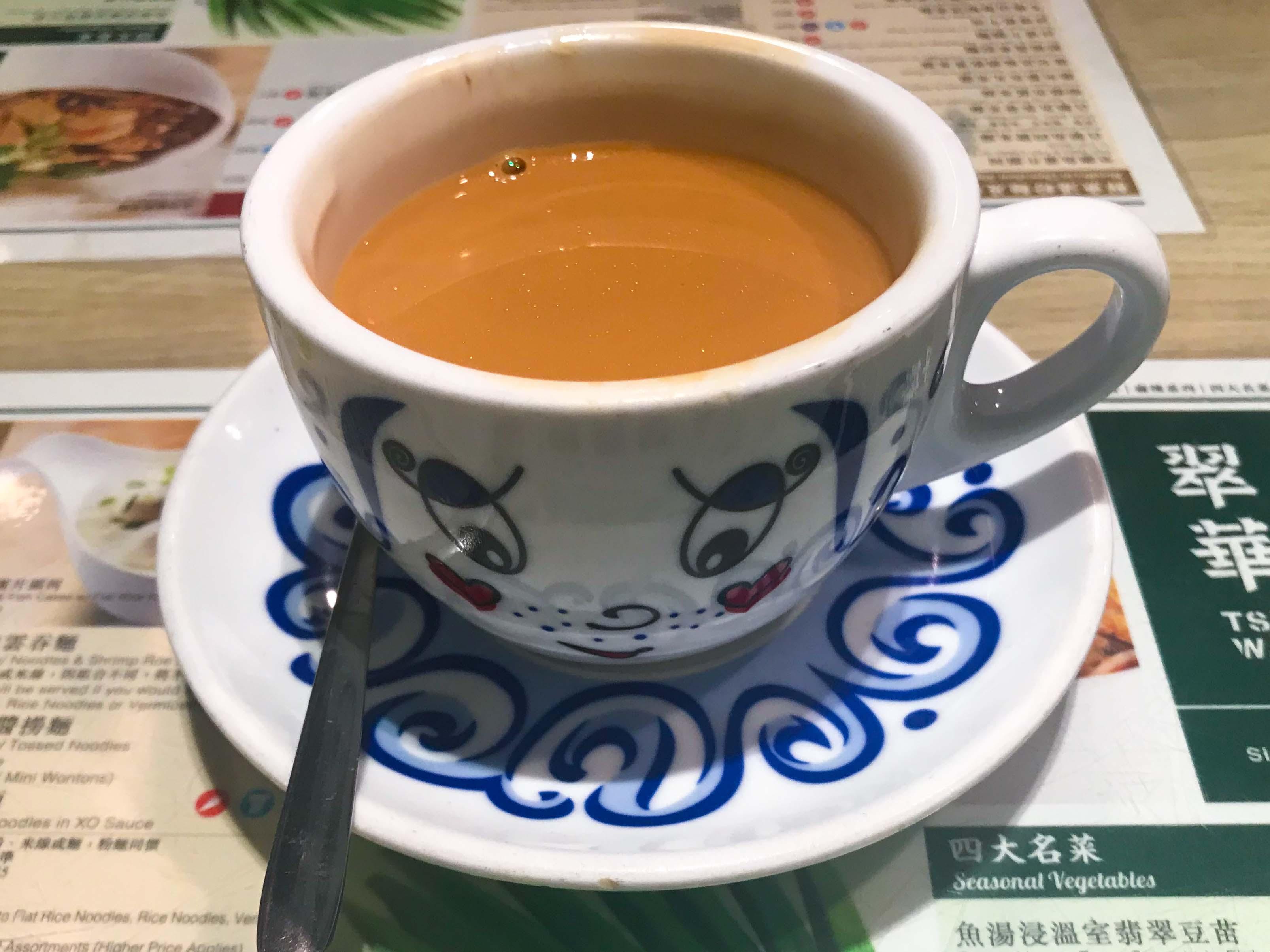 Tsui Wah Cafe Milk Tea Singapore