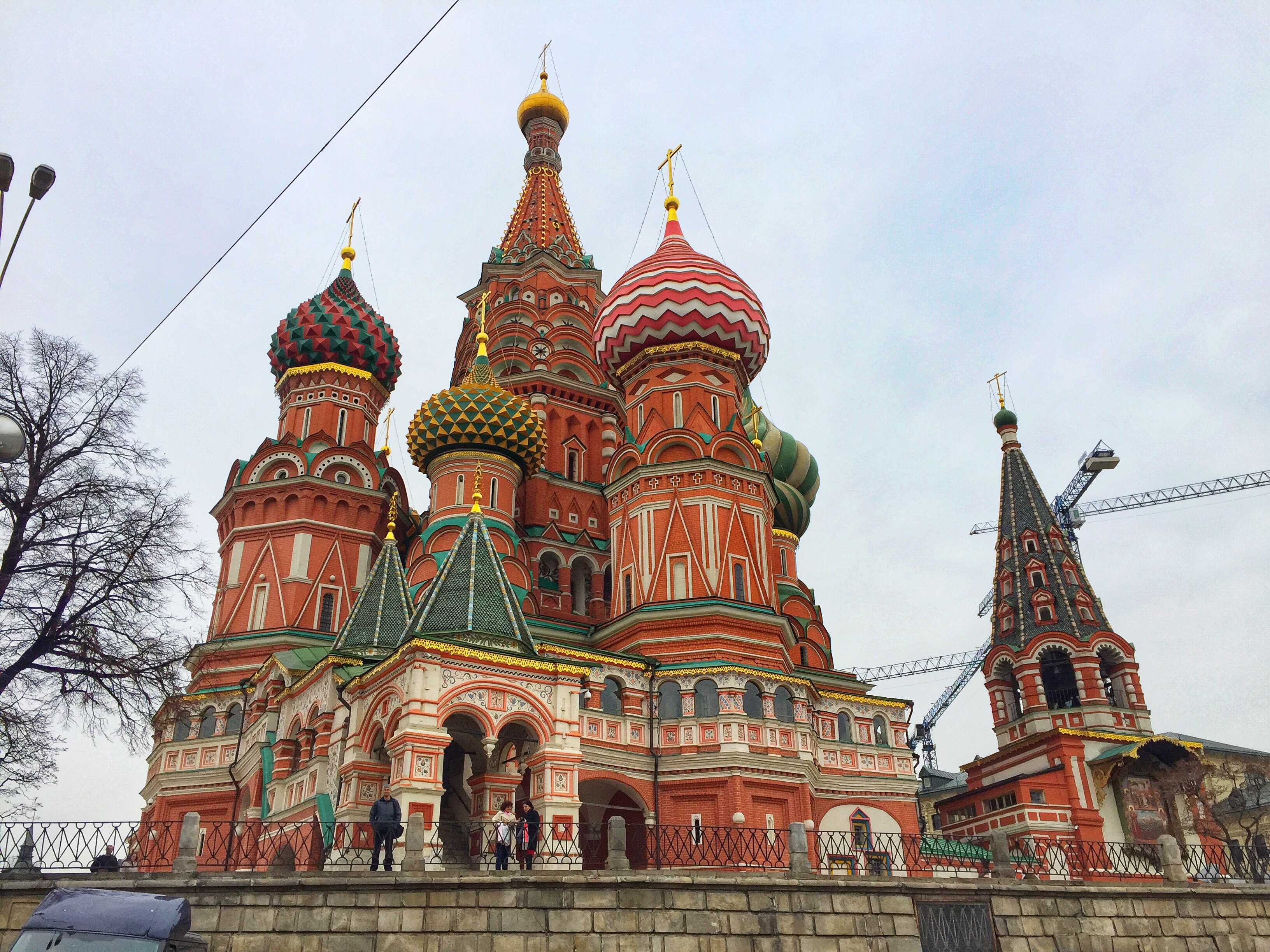 St Basil's Cathedral in Russia