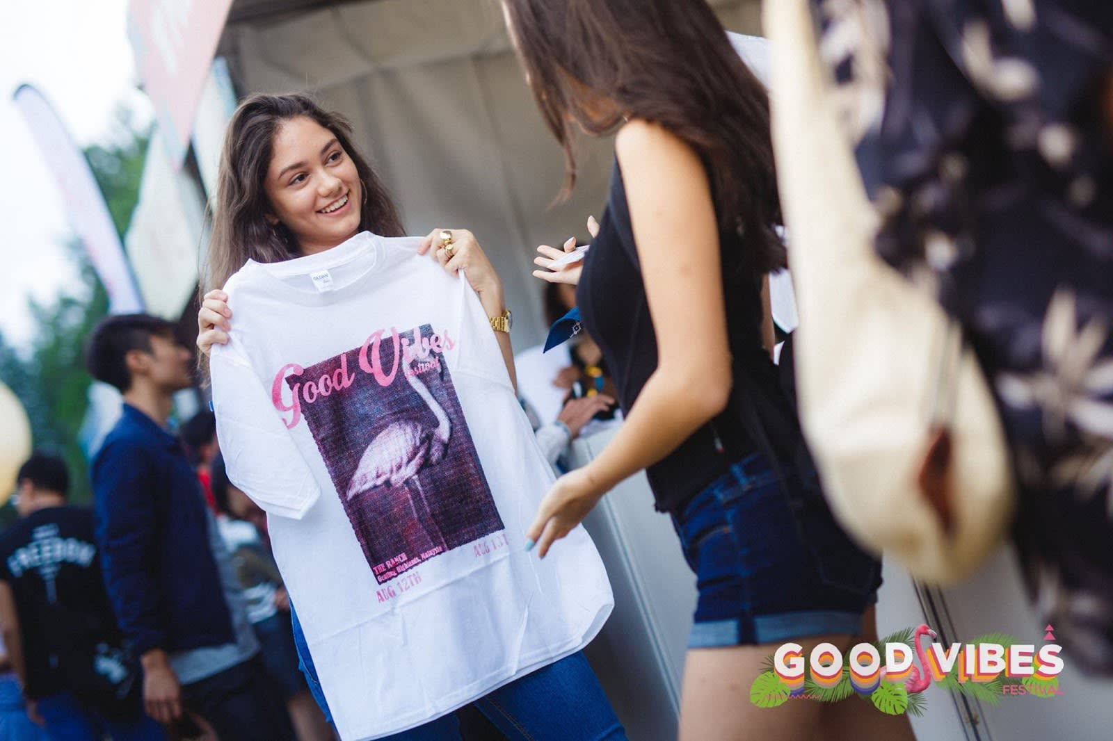 good vibes festival merchandise