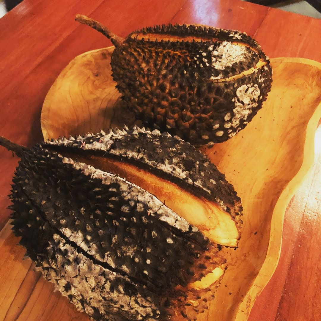 Double Durian Chargrilled Durian Singapore