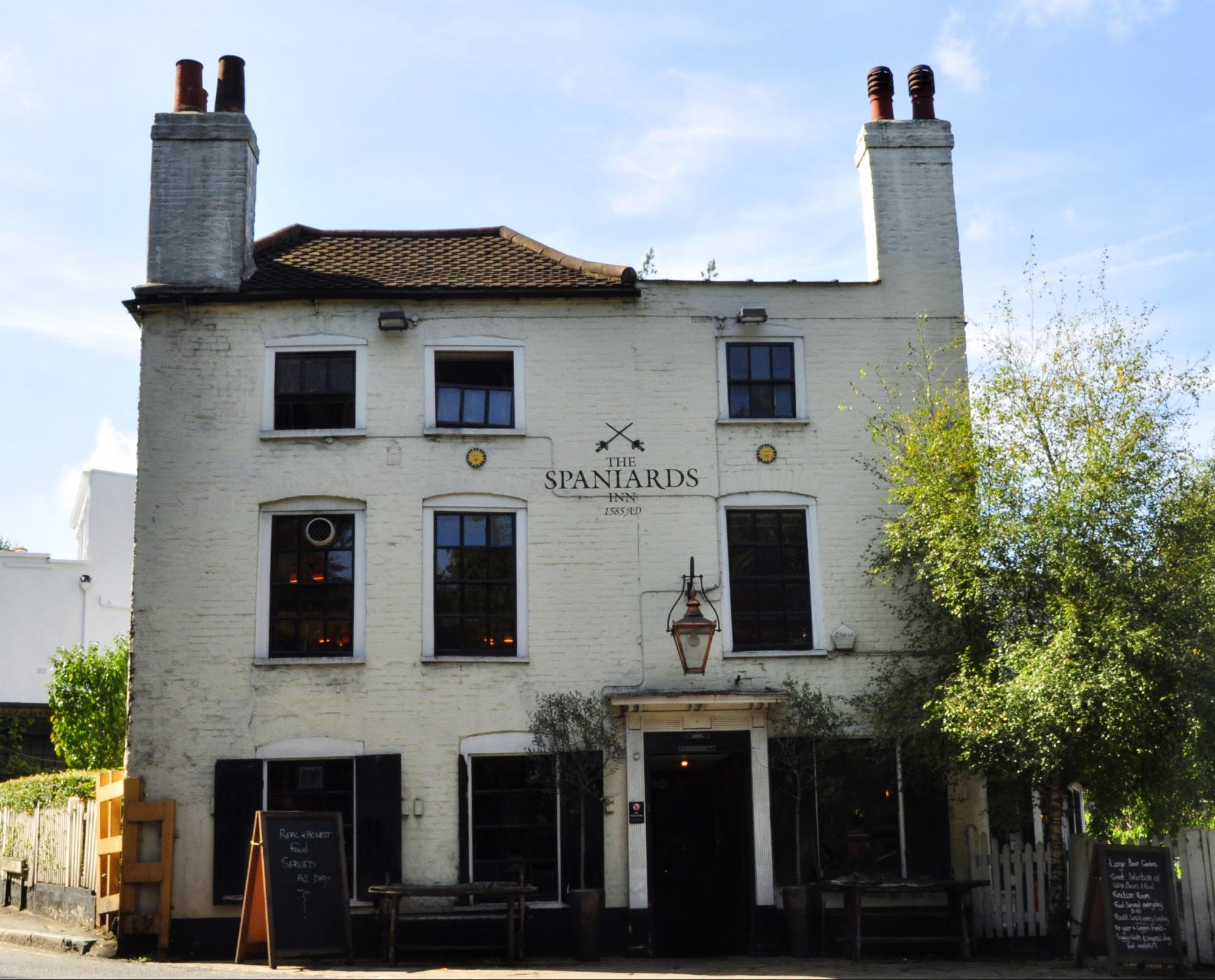 london pubs and bars spaniards inn