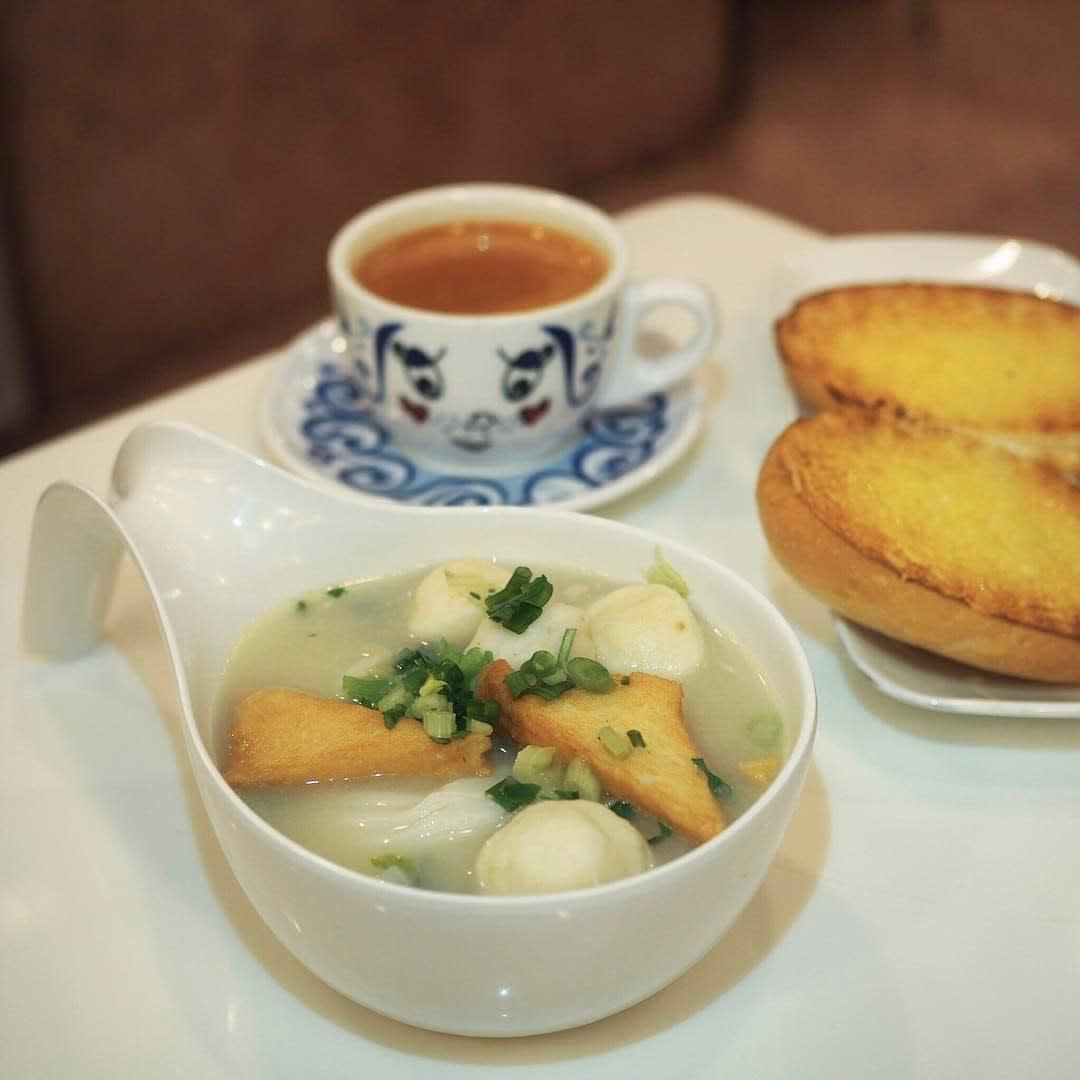 Tsui Wah Cafe Fishball Noodles Singapore