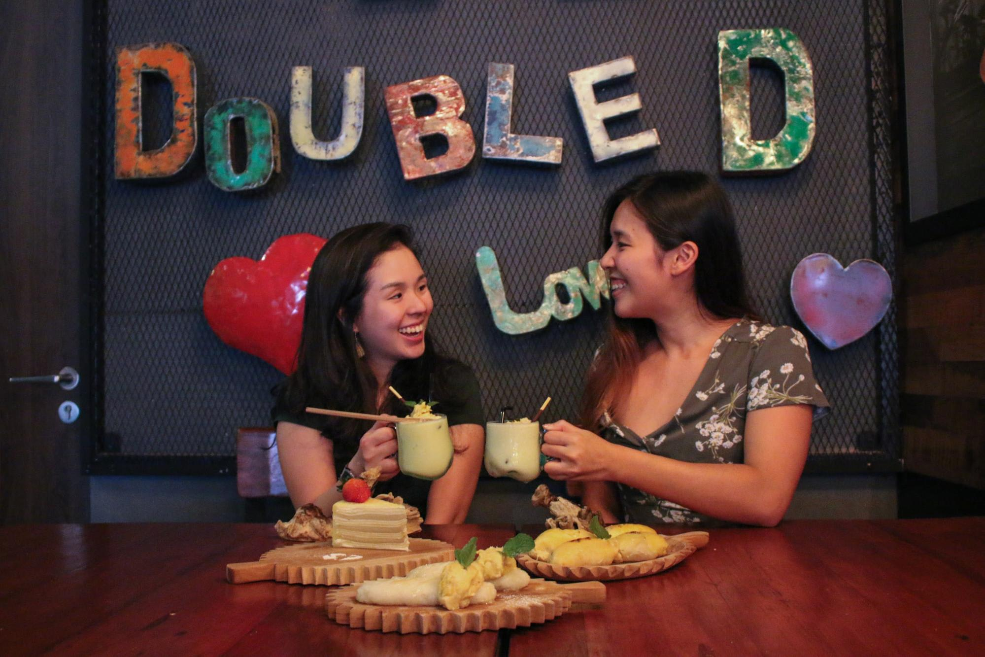 Double Durian Singapore Cafe