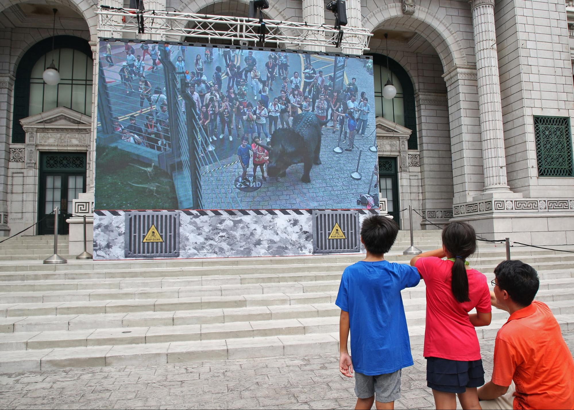 Jurassic World AR Universal Studios Singapore