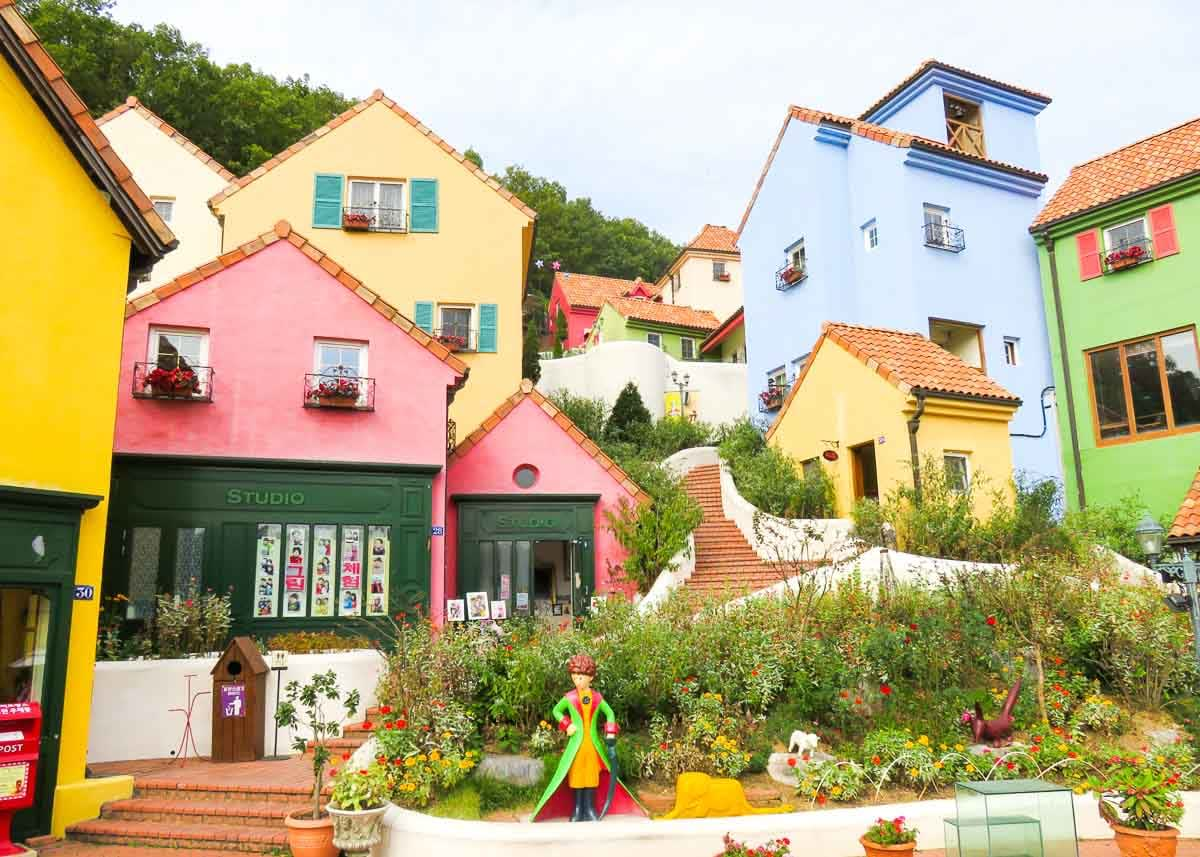 Korail Pass Petite France Korea