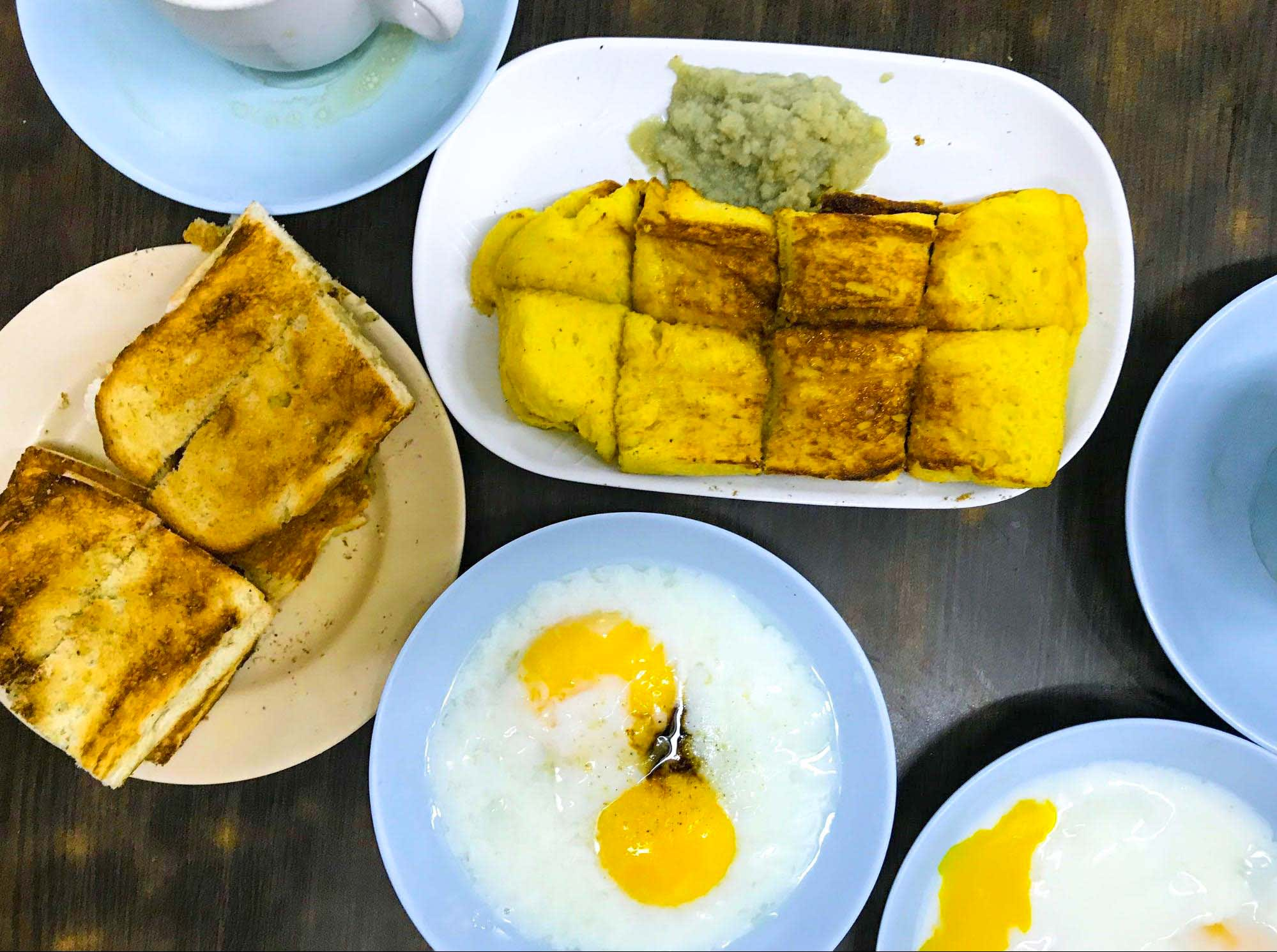 Tong Ah Coffee House Breakfast Set