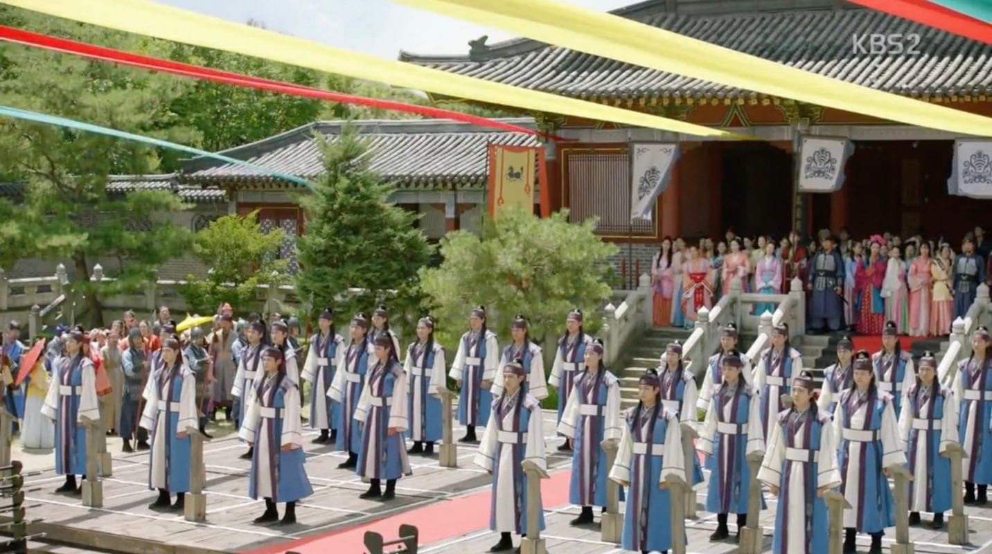 Shilla Millenium Park in Hwarang: The Beginning