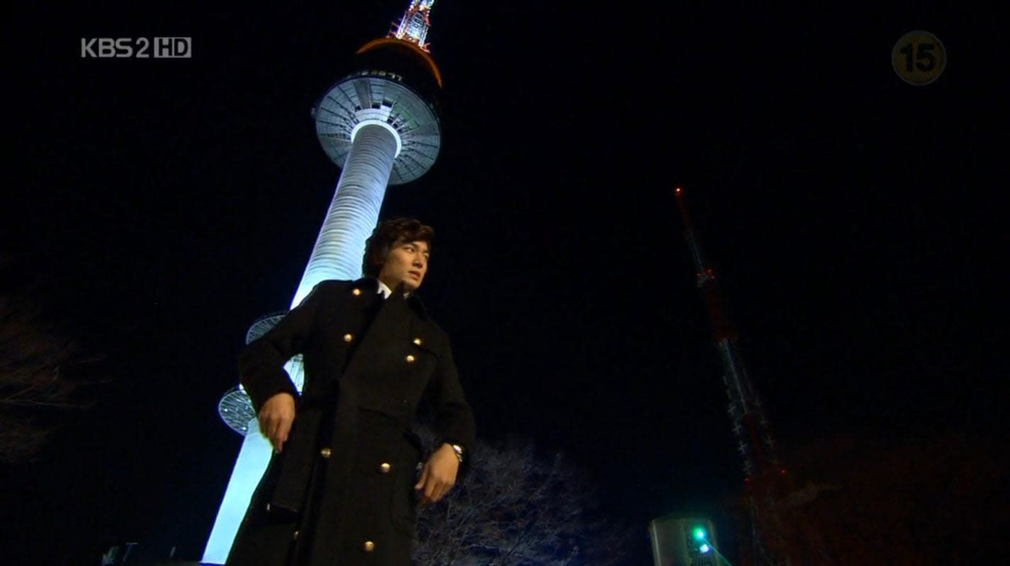 N Seoul Tower in Boys Over Flowers