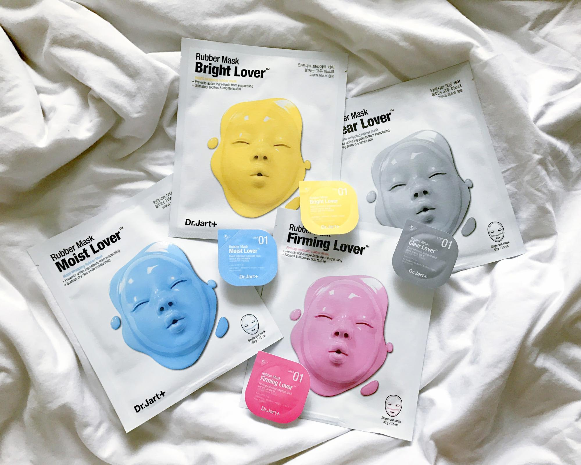 Korean Beauty Products Dr. Jart Rubber Lover Mask