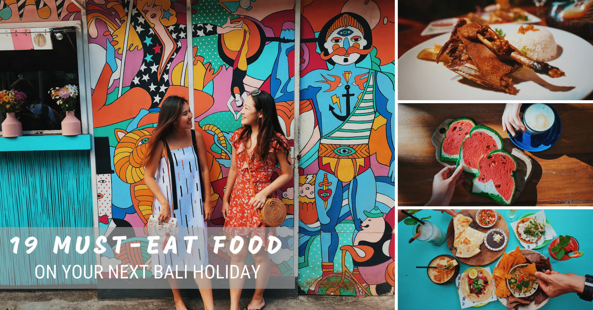 Bali food guide cover
