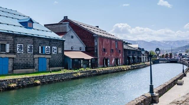Off peak Otaru Canal Hokkaido