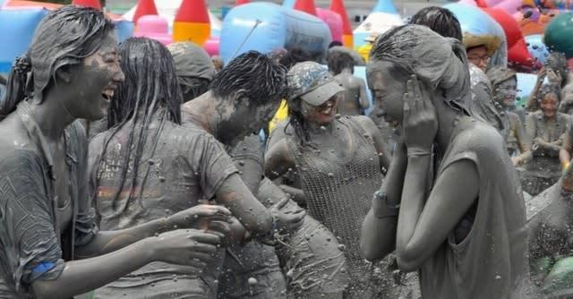 Offpeak Boryeong Mud Festival South Korea