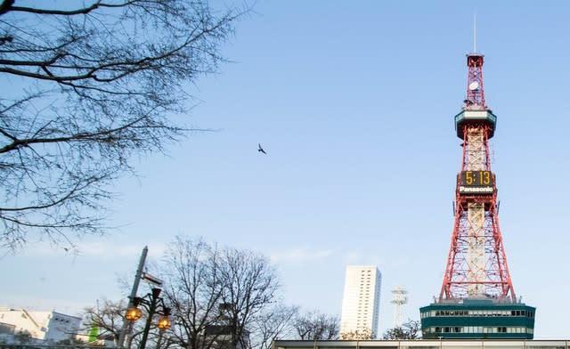 Off peak Sapporo TV Tower