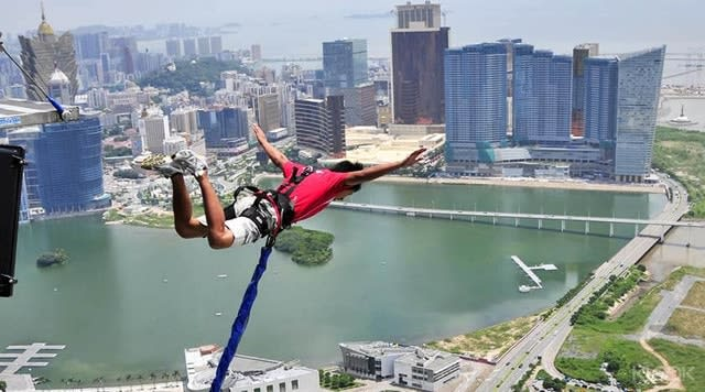 Offpeak Macau Tower Bungee Jump Macau
