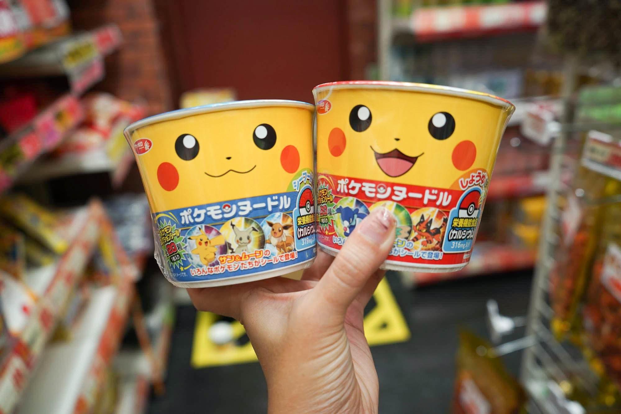 mì Ramen Nhật Bản hình Pokemon