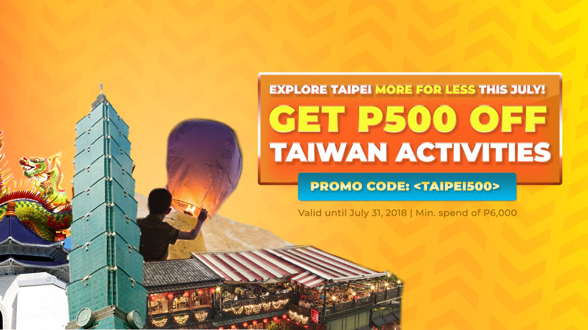taiwan for less