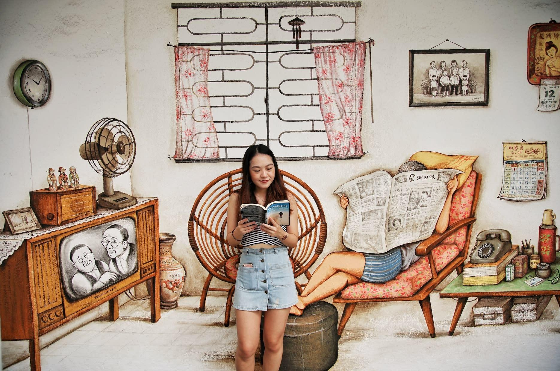 Tiong Bahru murals, home