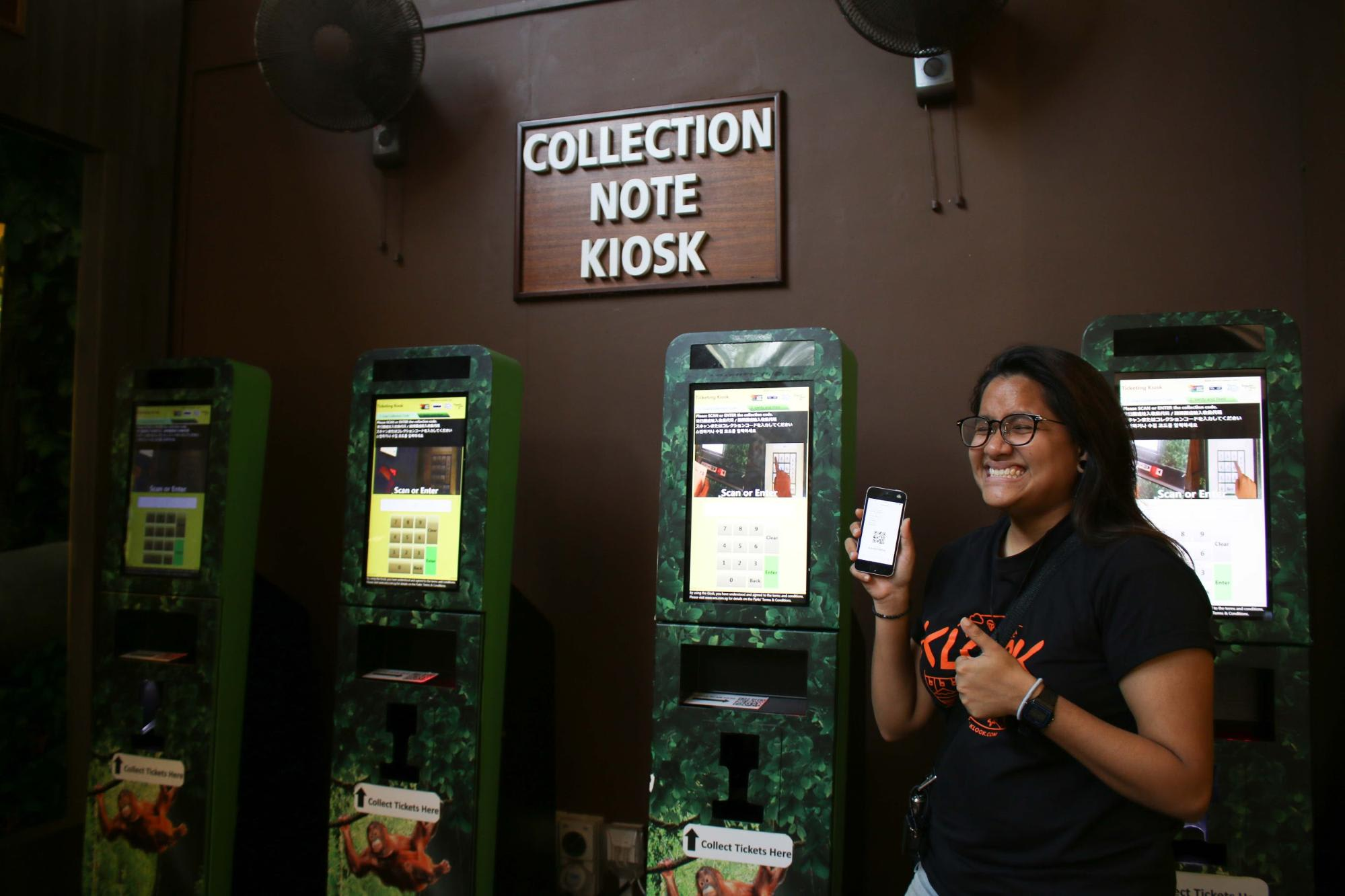 Rainforest Lumina Collection Note Kiosk Singapore Zoo