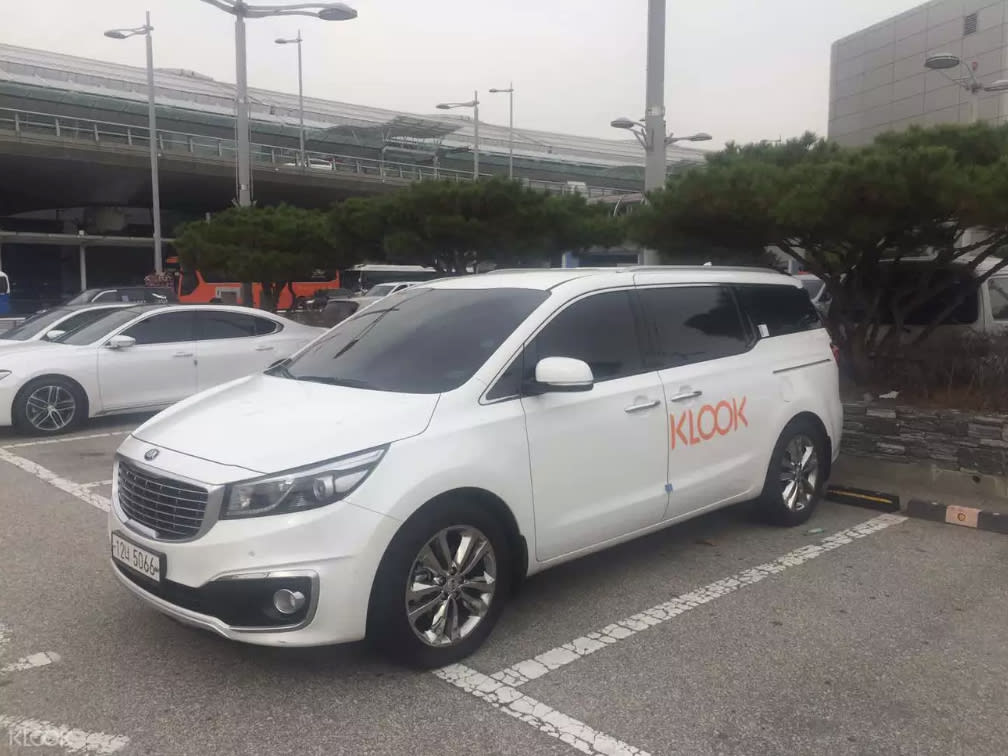 korea itinerary private car charter