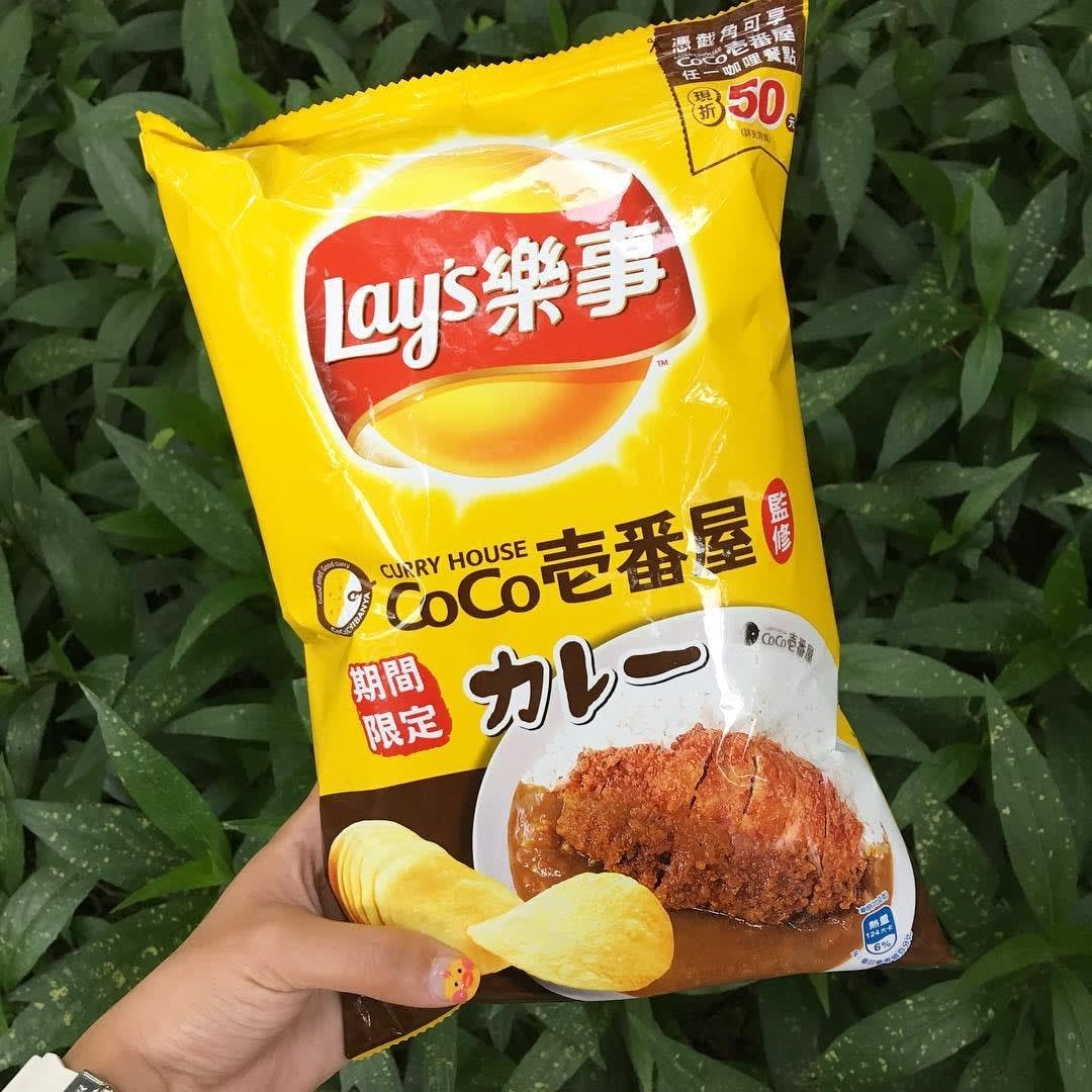 Coco Curry Potato Chips Taiwan 7-Eleven