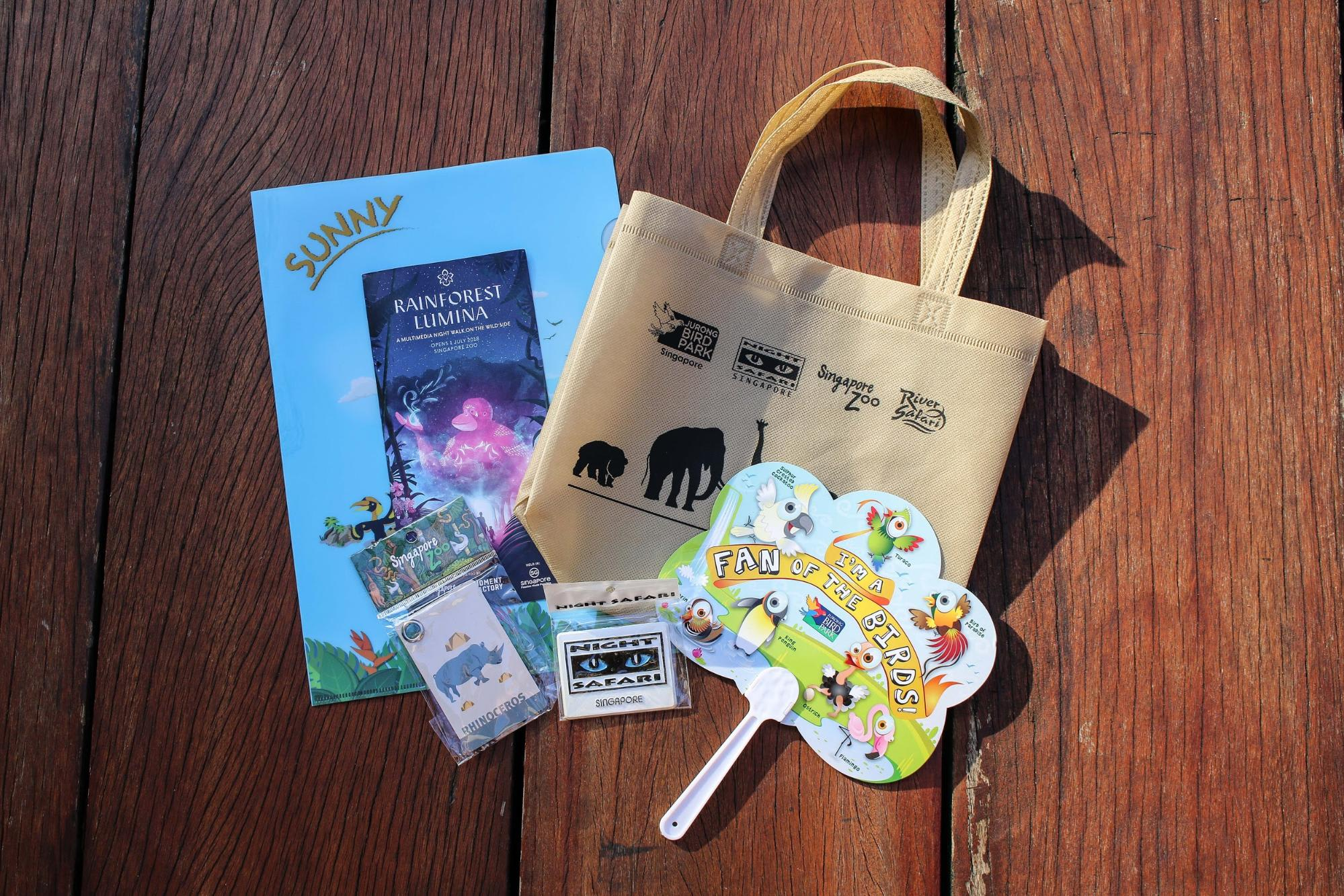 Rainforest Lumina Klook Goodie Bag