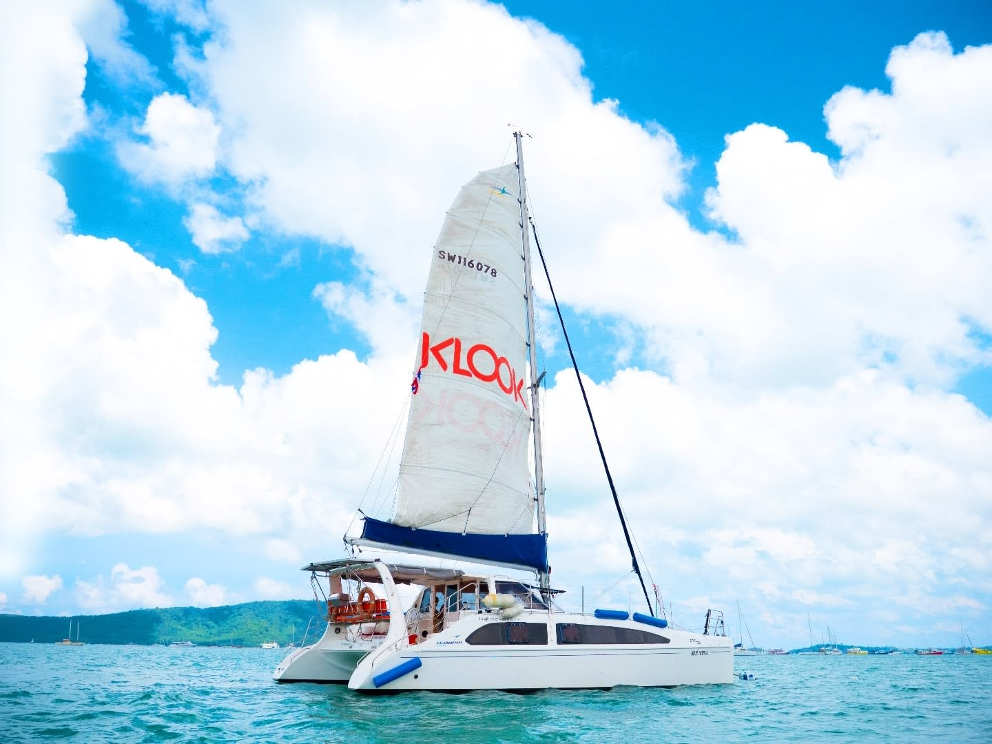 Klook Catamaran Yacht Phuket Islands