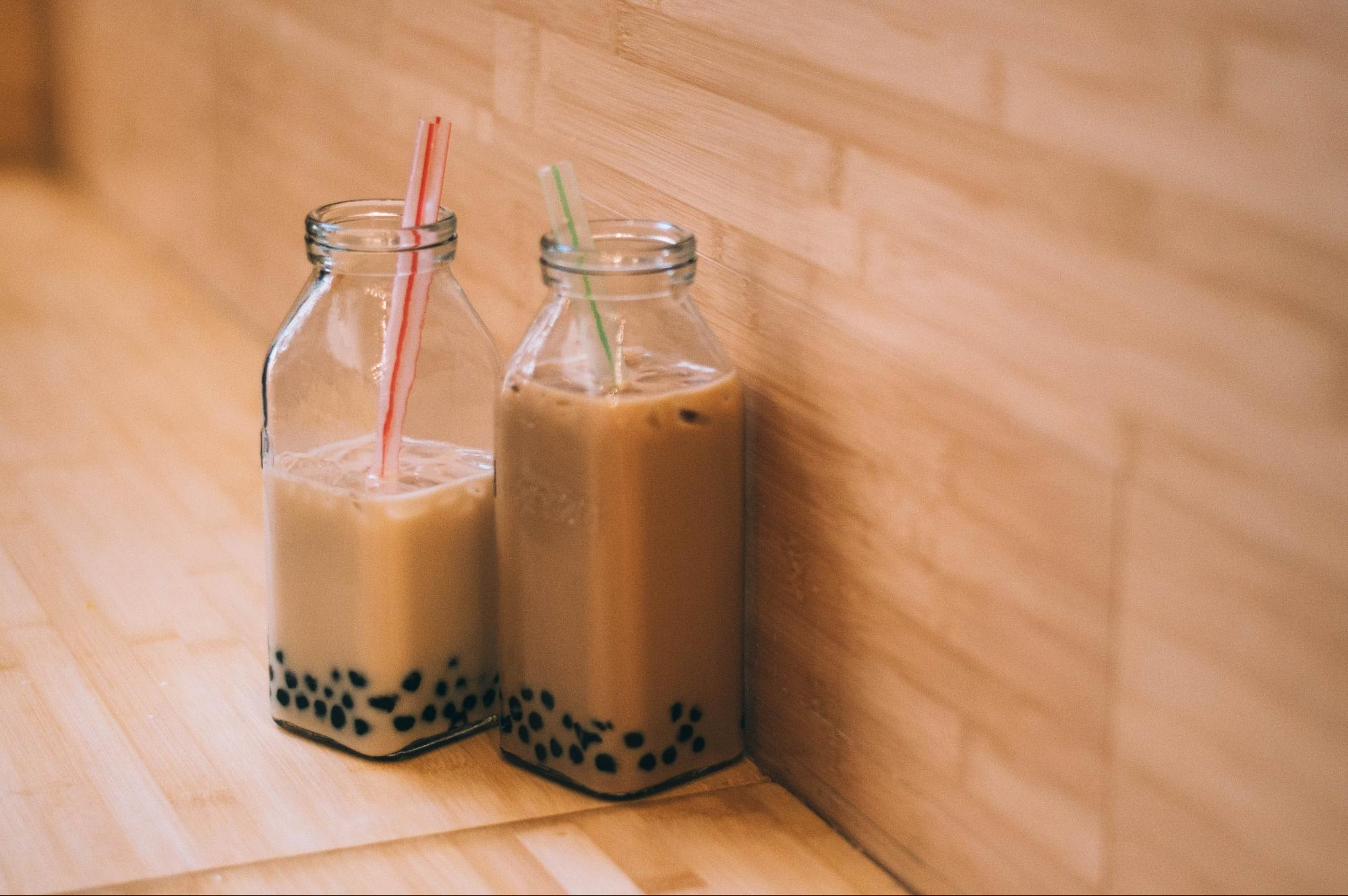 Milk tea around Asia