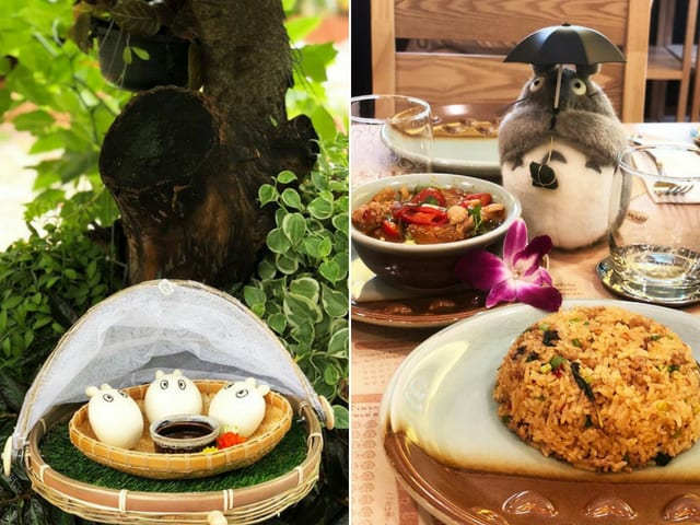 You Can Dine At A World's First Totoro-Themed Restaurant