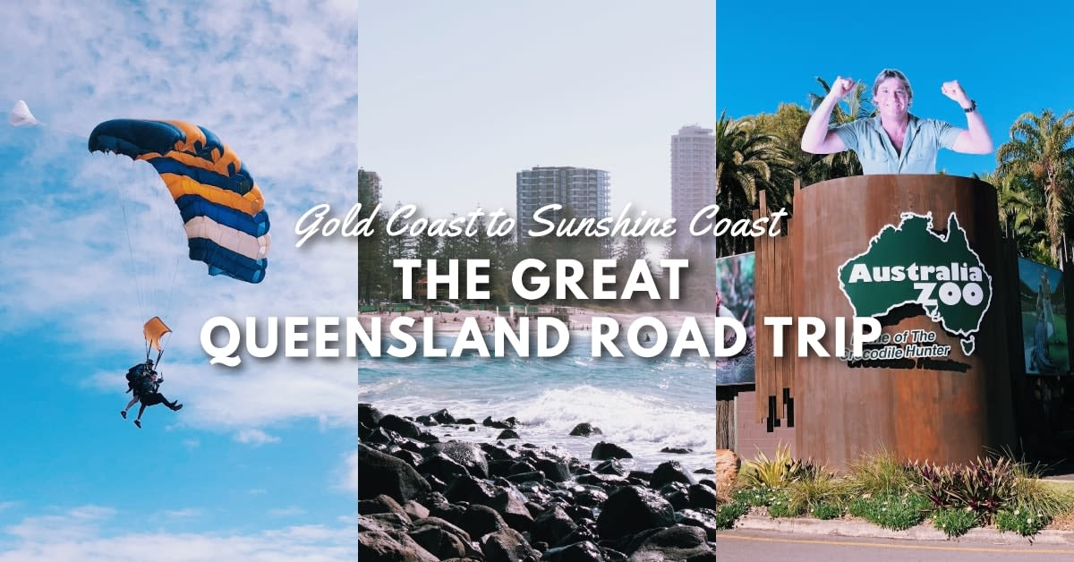 The Great Queensland Road Trip for beginners cover image