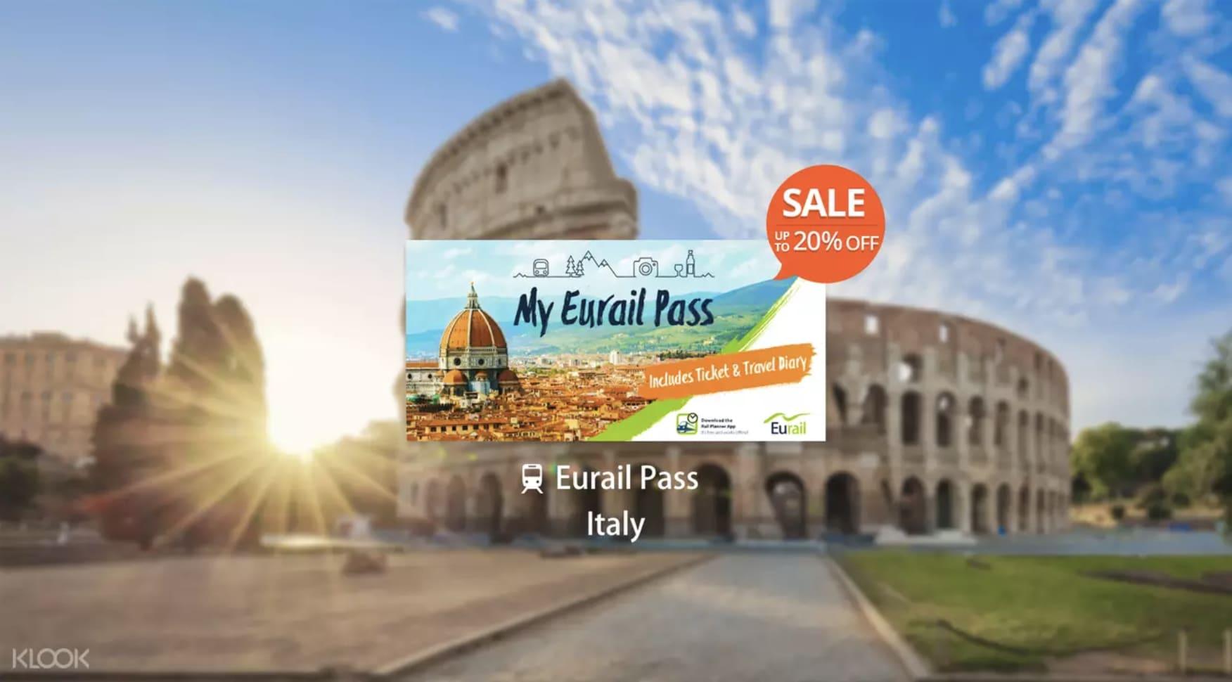 Italy eurail promo