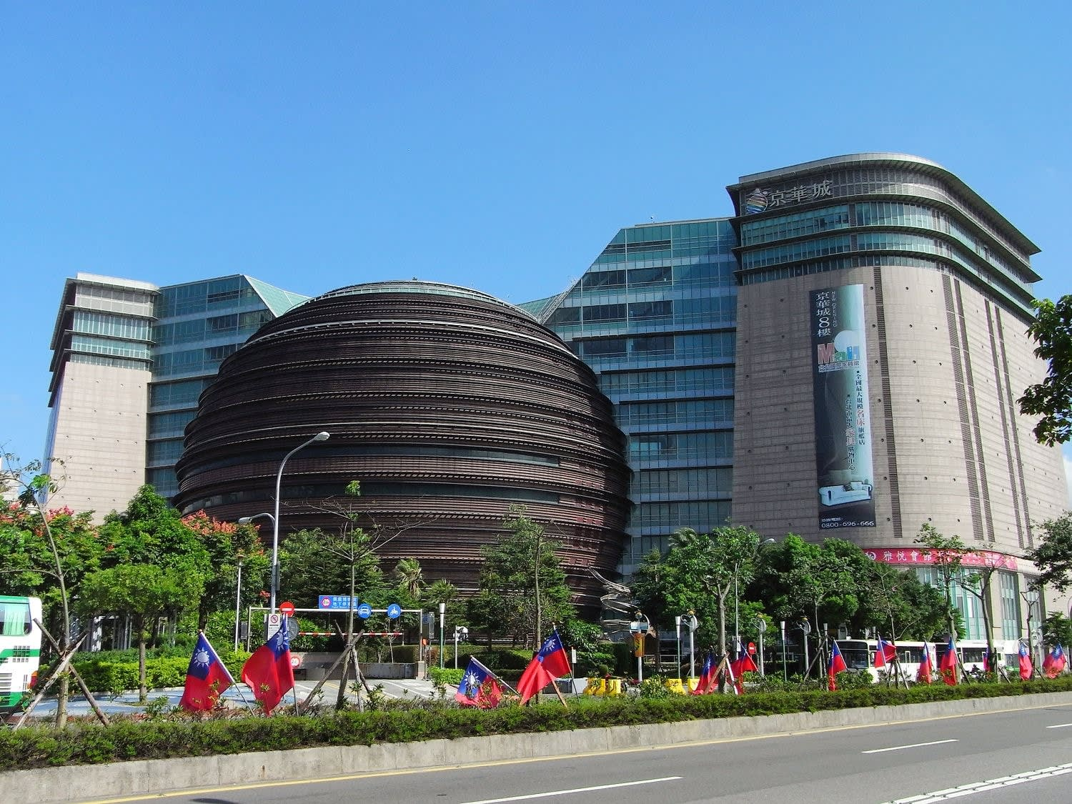c040e4d352d68 The Core Pacific, also known as the Living Mall, is one of Taipei s most  famous shopping centres. Apart from its unique architectural design, ...