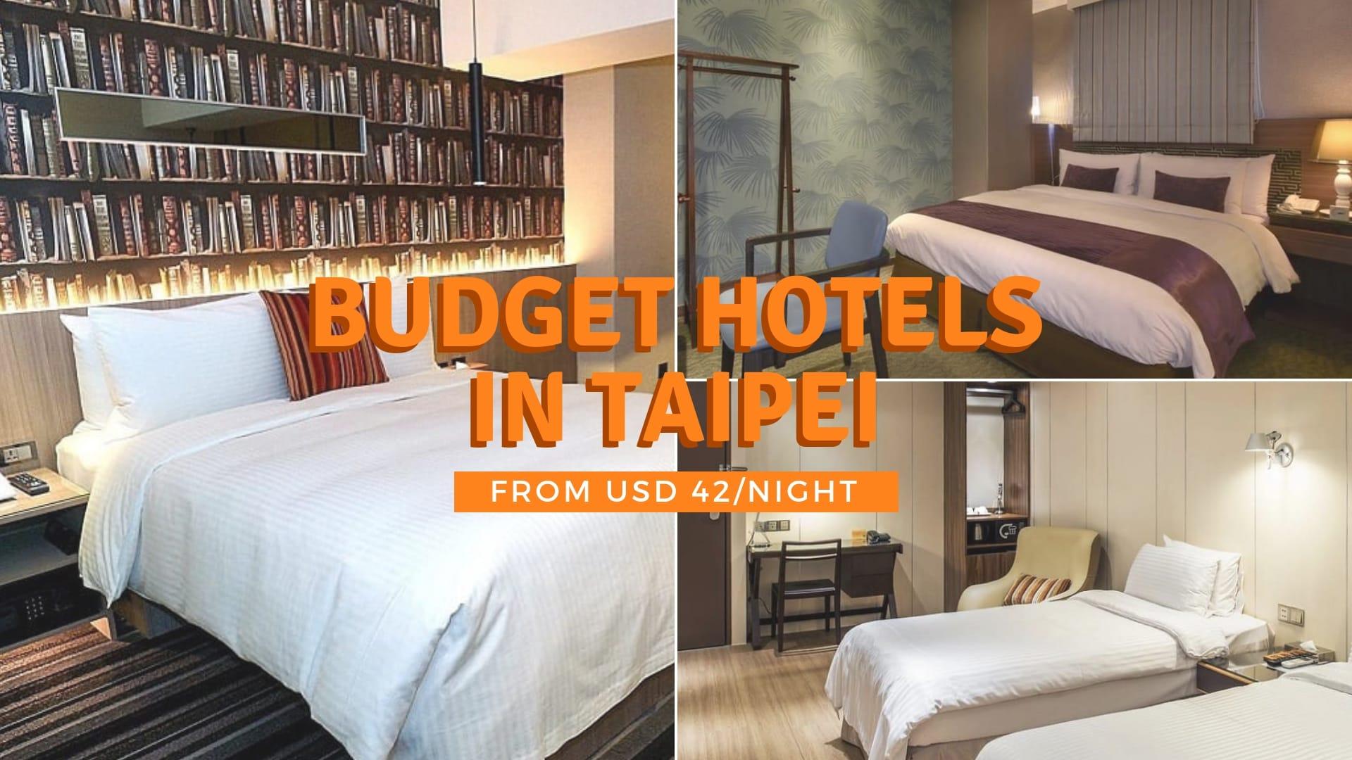 taipei budget hotels