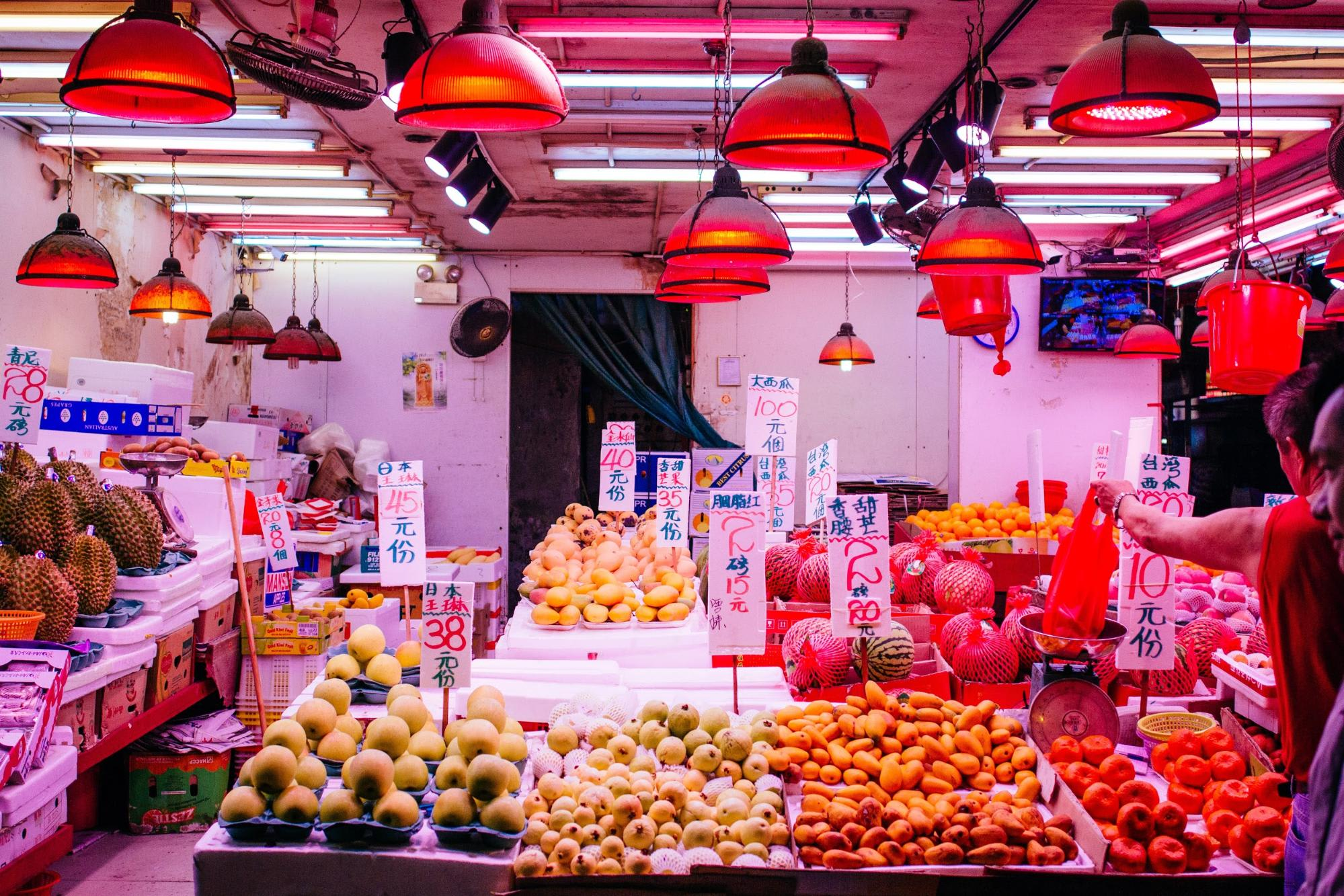fruit market hong kong