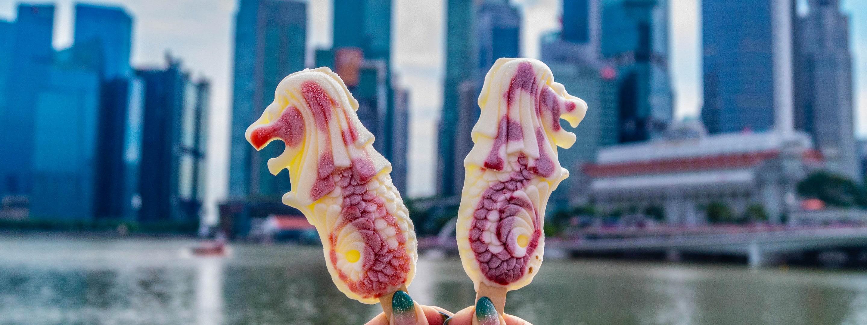 Merlion popsicles