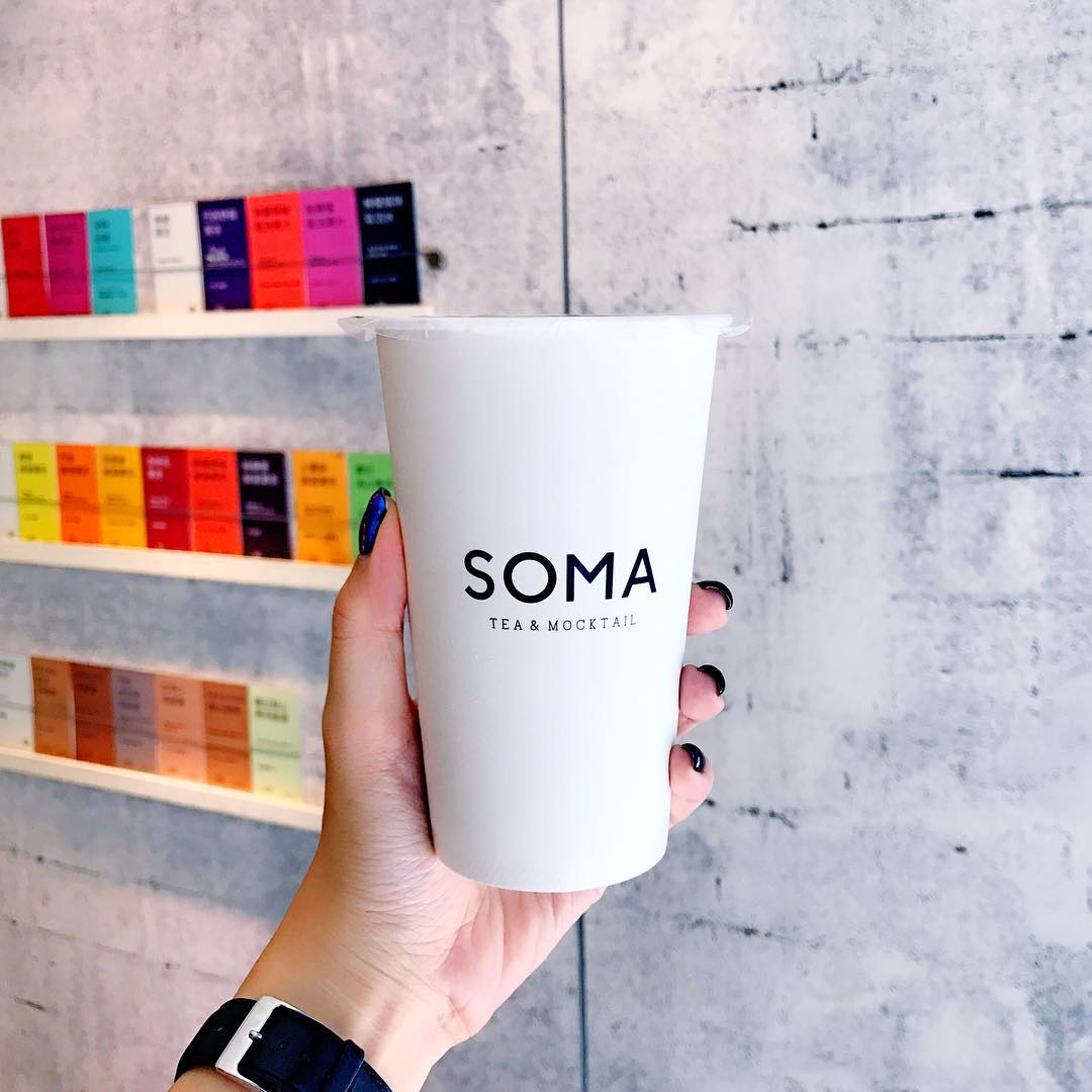soma tea and mocktail